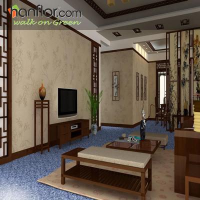 Hanflor vinyl flooring waterproof for living room