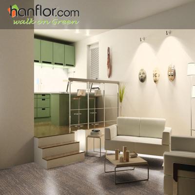 Hanflor vinyl flooring anti-scratch for living room
