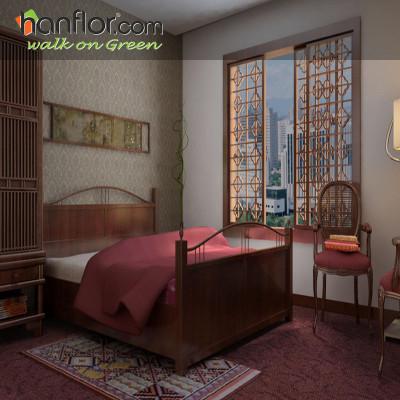 Hanflor vinyl flooring tile high stability for bedroom HVT8083