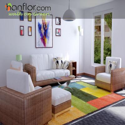 Hanflor vinyl flooring tileeasy-clean for parlor HVT8118