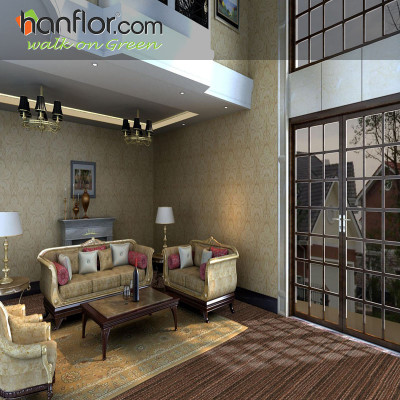 Hanflor vinyl flooring tileanti-scratch for parlor HVT8120-3