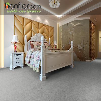 Hanflor pvc floor tile granite looking smooth for living room HVT2005