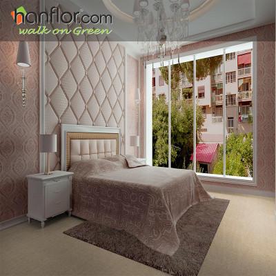 Hanflor pvc floor tile slate embossed smooth for living room HVT2005-1