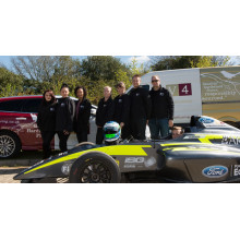 Woking firms V4 Woodflooring and Double R Racing team up for life in the fast lane