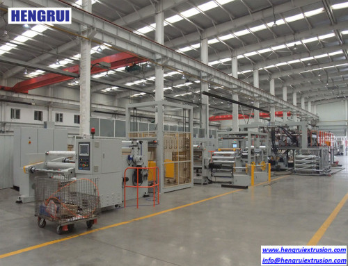 5 layers Online One-step Solar Back Film extrusion line