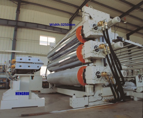 PVC Floor Extrusion Line/High Polymer Waterproof Membrane Extruder