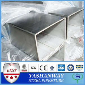 Ysw30430631431620*20ミリメートルのステンレス鋼の正方形の管のエンドキャップ