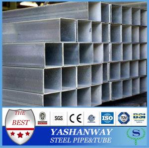 Ysw10x10- 100x100a123astm亜鉛めっき鋼角形鋼管のサプライヤー