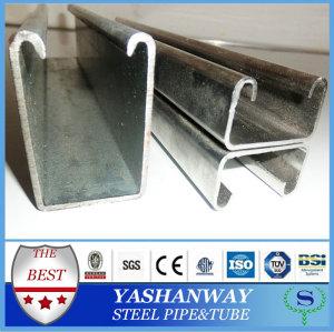 軽度ysw亜鉛めっき鋼cチャネル部標準的なサイズ