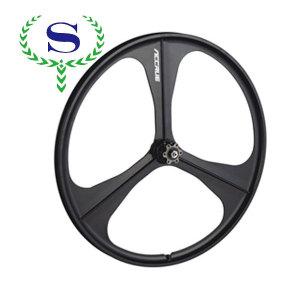Ysw 3 rayons disc brake mount intégré roues