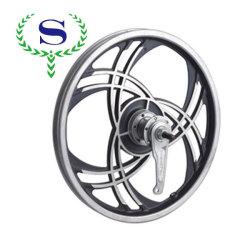 Silver YSW integrado 3 radios de la rueda llanta para BMX con cierre rápido