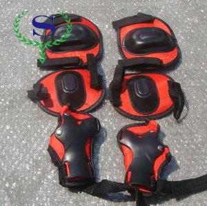 ysw ginocchiera per moto quattro pezzi pad di protezione