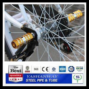 Ysw essieu repose-pieds pour vélos bike