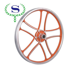 ysw 5 빨간색 휠 바퀴 뼈