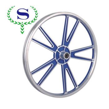 Ysw красное колесо 4 спицы колеса