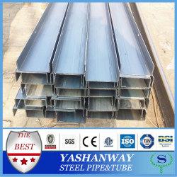Silver YSW u haz 100 x 50 x 5.0 mm acero laminado en frío de canal de peso gráfico