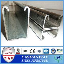 Yswss400q235ba36s235jrastm軟鋼c- のチャネル寸法
