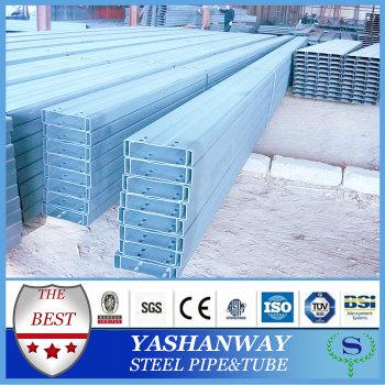 ysw galvanizli c tipi kanal çelik yapılar için