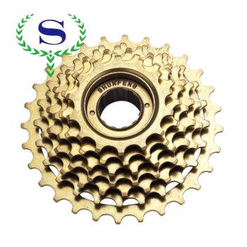 Ysw велосипедных частей 7 скорость non-index велосипед выбеге