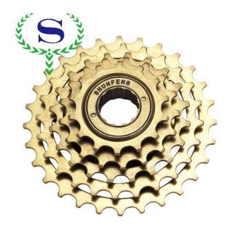 Ysw велосипедных частей 5 скорость non-index велосипед выбеге