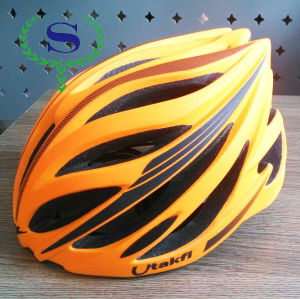 ysw gaint casco in mountain bike pista ciclabile