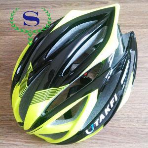 colorato ysw degli uomini e delle donne verde eps ciclismo bicicletta casco