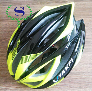 ysw 색의 남성 및 여성 녹색 EPS 자전거 자전거 헬멧
