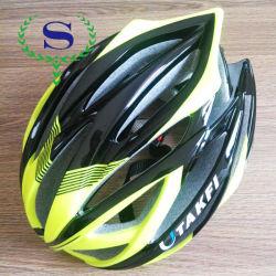 Silver YSW color hombre y de la mujer EPS verdes ciclismo casco de la bicicleta