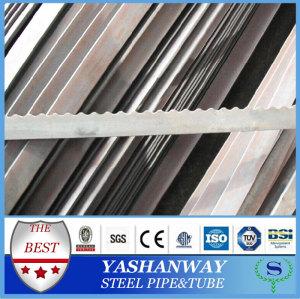 Ysw 30 * 50 - 30 * 160 mm dentelé laminé à chaud plat bar tailles