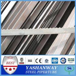 Silver YSW 30 * 50-30 * 160 mm serrado laminado en caliente barra plana tamaños