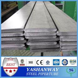 Silver YSW din 174 portaminas 304 316 2b acabado acero inoxidable barra plana