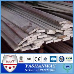 Silver YSW SS400 Q235B S235JR ASTM A36 acero dulce barra plana por kg