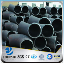YSW astm a105 8 inch 90 degree 3 way carbon steel pipe elbow
