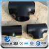 YSW 45 degree ach40 carbon steel equal tee fittings