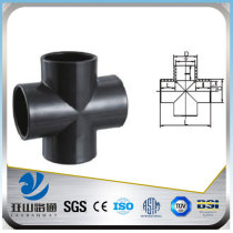 YSW 4-way cross pipe fitting with ISO certificate