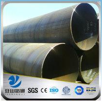 YSW schedule 40 cold drawn mild spiral steel round pipe price