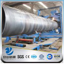 YSW 40mm diameter schedule 40 SSAW steel pipe price per kg