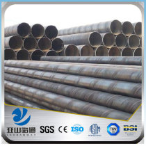 YSW mechanical properties st52 800mm spiral steel round pipe sizes