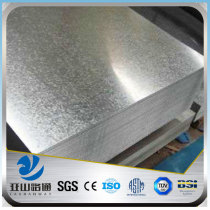 YSW 2mm thick galvanized corrugated iron sheet with price