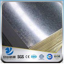 YSW gi steel sheet price per square meter