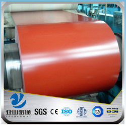 YSW secondary ppgi prepainted galvanized steel coil price