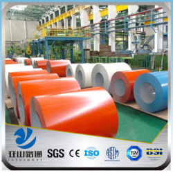 YSW dx51d z pre-painted hot dip galvanized steel coil