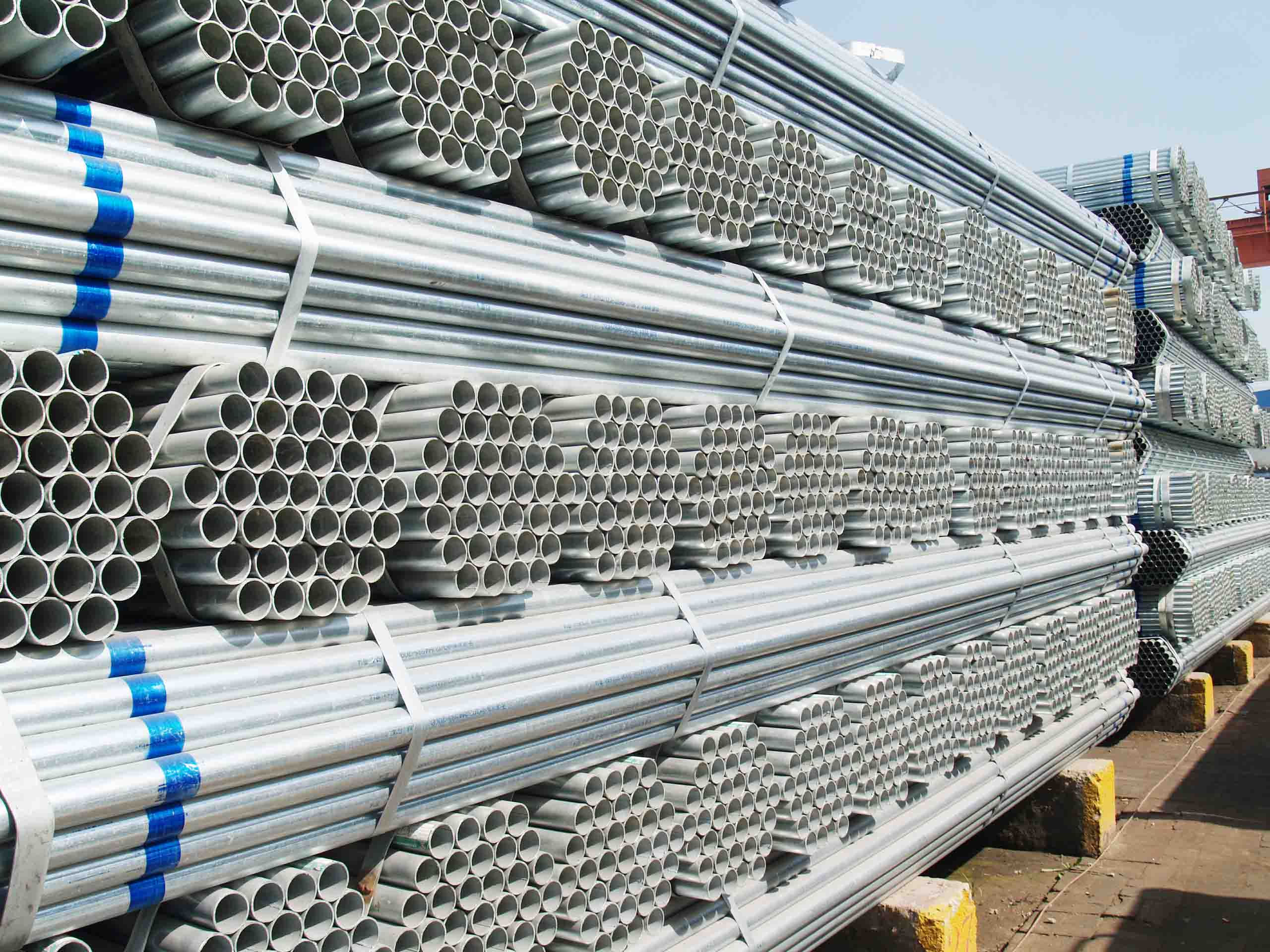 class b 4 inch galvanized steel water pipe