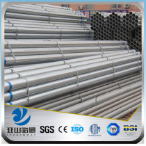 YSW 1.5 inch used hot dipped galvanized pipe for greenhouse frame