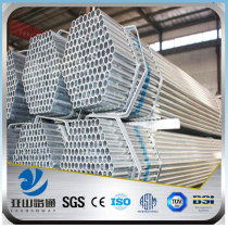 YSW world best selling products steel galvanized pipe for handrail