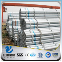 YSW 1 inch standard length gi steel pipe thickness for class c