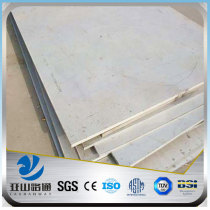 YSW astm a240 tp304 316l stainless steel plate price per sheet