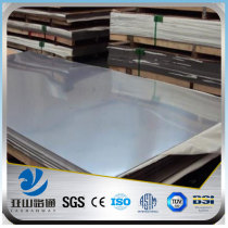 YSW 201 430 0.8mm 4x8 mirror stainless steel sheet for wall panels