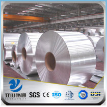 YSW 6082 H112 color coated aluminium gutter coil