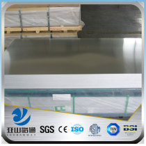 YSW 6068 10mm thick aluminium roofing sheet for trailers